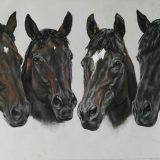–Commissioned Horse portraits in Pastel by Horse Portrait Artist Marina Haycroft