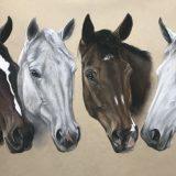 horses in art by Marina